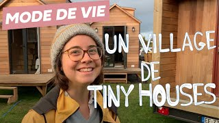 À 25 Ans, Elle Crée Son Village De Tiny Houses !
