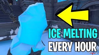 🔴 *NEW* FORTNITE ICE MELTING EVENT EVERY HOUR (SNOWFALL SKIN COMING SOON) COME JOIN IN