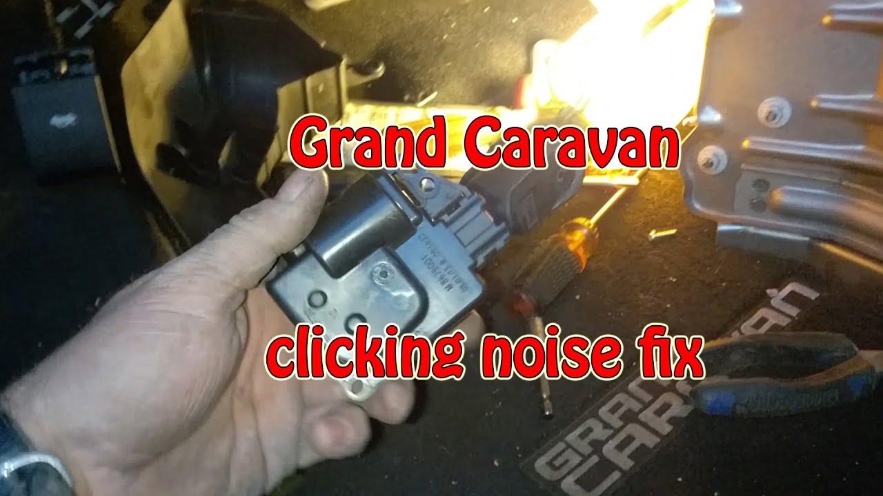 2013 dodge caravan clicking sound under the dash fixed [ 1280 x 720 Pixel ]