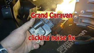2013 Dodge Caravan clicking sound under the dash - Fixed by hackfreehvac