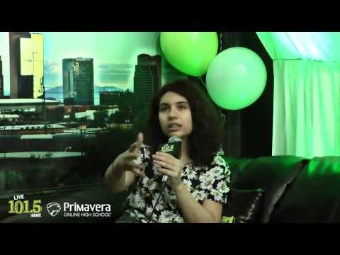 Alessia Cara - LIVE 101.5 Lounge Interview