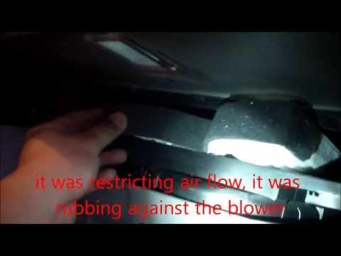 on Hyundai Sonata Air Filter Replacement