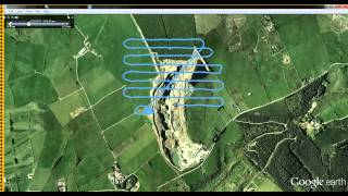 Aerial Survey at Ballinascorney Quarry   Flight Plan