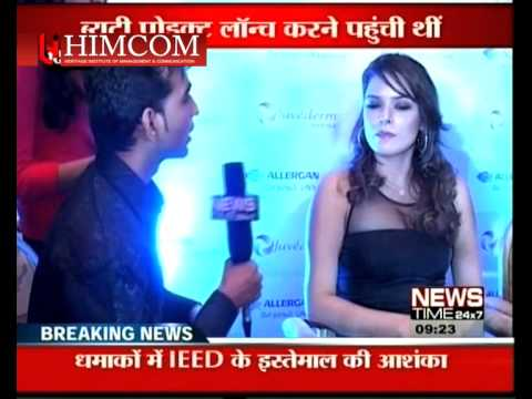 HHIMCOM Students @ PRESS CONFERENCE WITH ACTRESS UDITA GOSWAMI