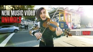 Maroon 5 - Animals - by Filip Jancik [Official Video] - Violin Cover