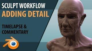 sculpting workflow |  multi-resolution modifier | Blender