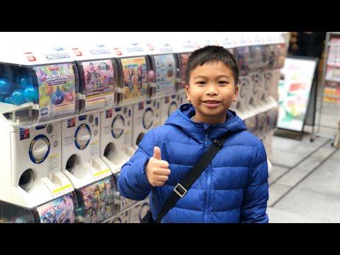 เจเจพาเที่ยวโตเกียวEP3 ตามล่าหมุนกาชาปอง Jdragon challenge