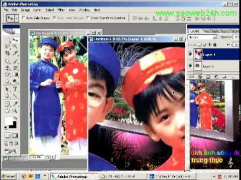 Học photoshop ghép hình bài 4.wmv