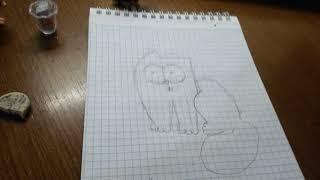 Мастер класс как нарисовать кота саймона
