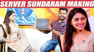 Difference Between New & Old Server Sundaram – Vaibhavi Shandilyan Opens Up | Santhanam