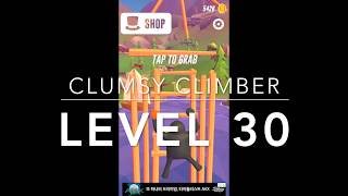 Clumsy Climber (by Ketchapp) Gameplay - Level 30