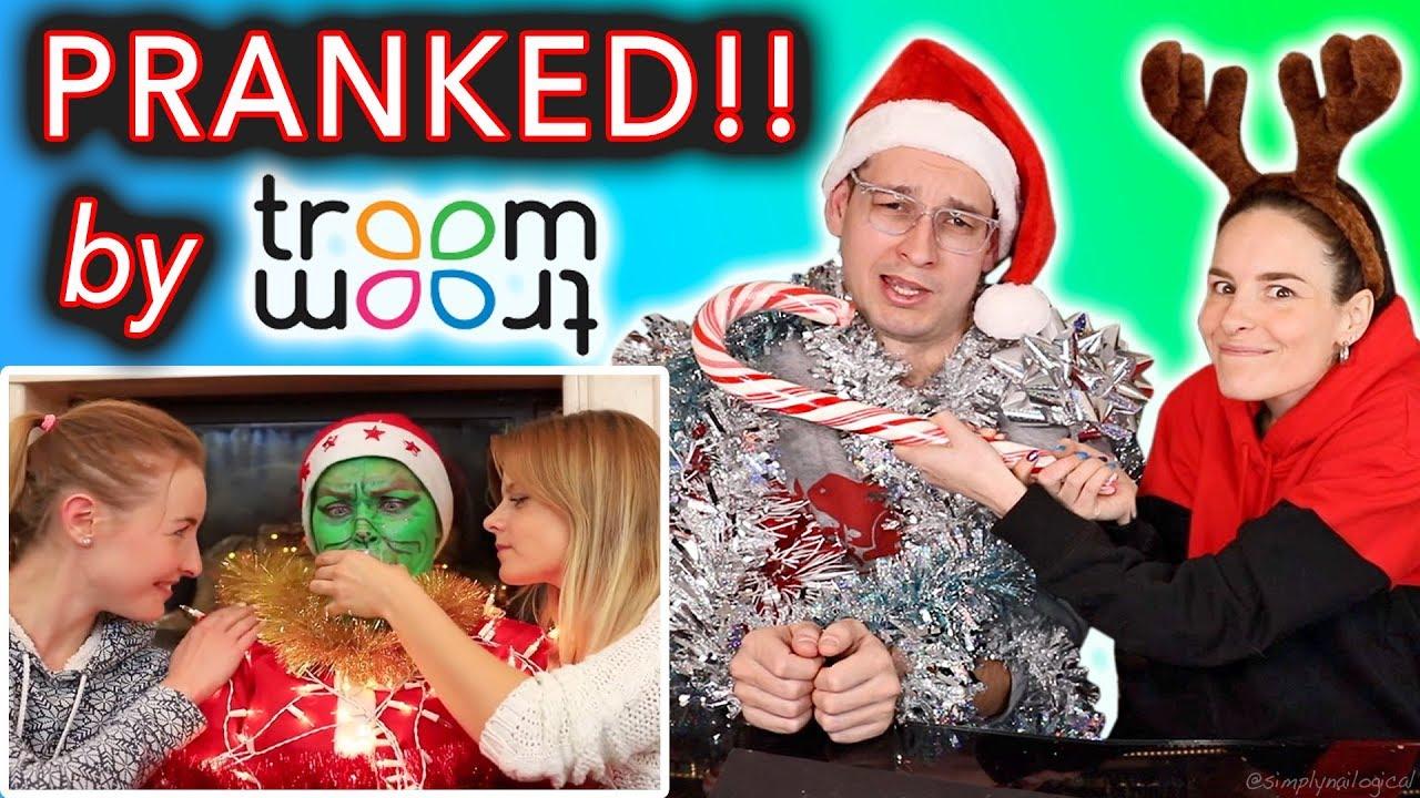 Christmas Special.A Very Troom Troom Christmas Special Pranks On Boyfriend Prank Wars Oh Noo
