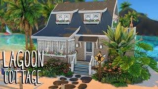 Lagoon Cottage 🌴 // Sims 4 Speed Build