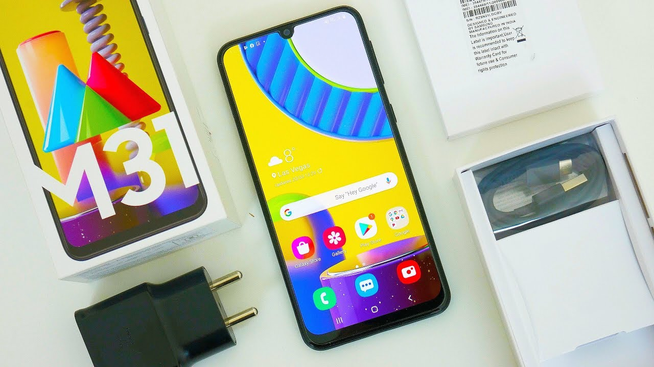 Samsung Galaxy M31 Unboxing & First Impressions! #MegaMonster