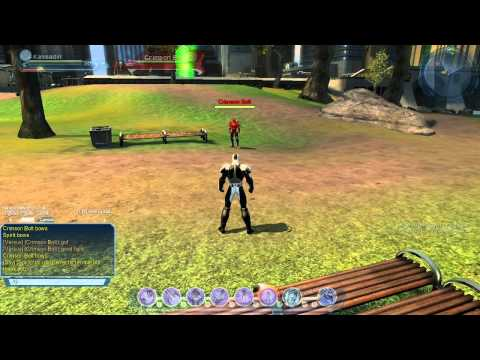DC Universe Online Commentary - 1v1 PvP at the Superman Statue