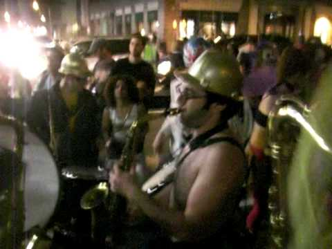 No Small Money Brass Band Live at 2009 Halloween Parade #1