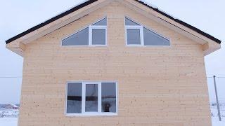 видео Д-45 Дачный каркасный дом 6x9 м