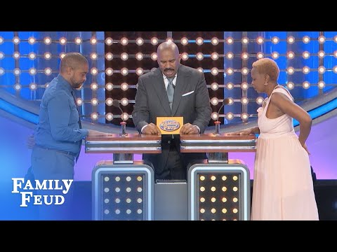 Watch the STOWERS play for a BRAND NEW CAR!!! | Family Feud
