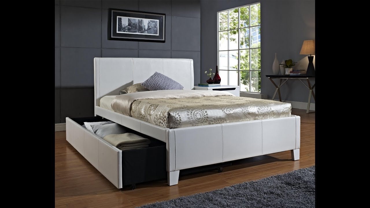 furniture with trundle beds for adults - youtube