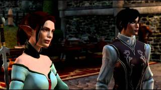 Dragon Age 2 funny moments MotA (Hawke/Tallis/Fenris/Anders) and Fenris
