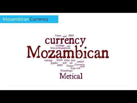 Mozambican Currency - Metical