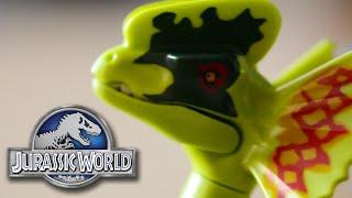 Spitter Attack - Dilophosaurus Ambush Jurassic World Lego Set - Review/Build