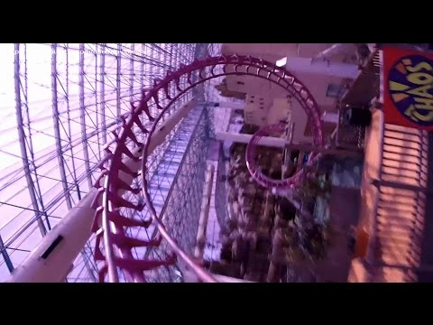 Canyon Blaster (HD POV) - Adventuredome at Circus Circus