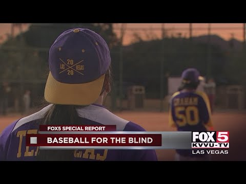Las Vegas Baseball Team Formed For Blind