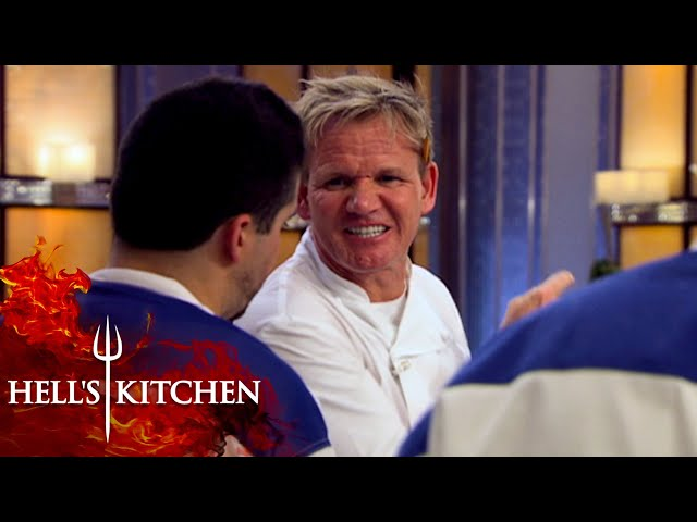Chef Disobeys Gordon's Orders | Hell's Kitchen