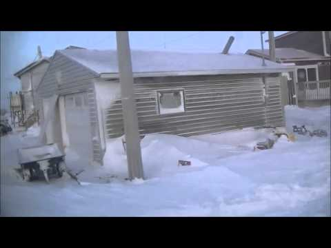 Arctic Snowcat Ride - Rankin Inlet, Nunavut, Canada - Satellite Dish Technician Mark Erney