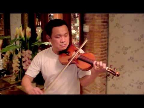 ไวโอลินเพลงไทยเดิม สีนวลโดยครูชัย