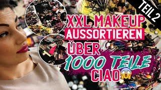 XXL Makeup aussortieren - Teil 2 - Über 1000 Teile aussortiert ! Schminksammlung Declutter