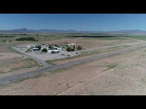 Aerial tour of Rachel, NV and the Extraterrestrial Highway