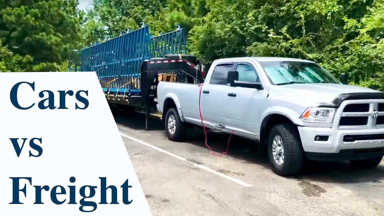 car hauler vs flat bed - Hotshot Trucking