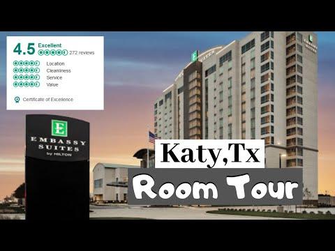 Embassy Suites by Hilton Houston West - Katy I Room Tour I 2019
