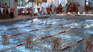 wedstrijd zib 100 meter rugslag dames