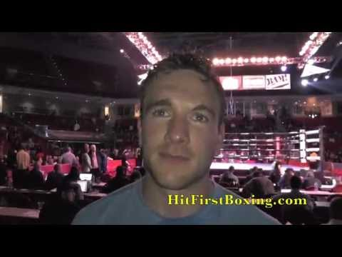 Mike Lee After Defeating Peter Lewison By TKO