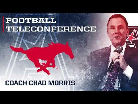 2017 Football Teleconference Week 4 - SMU Head Coach Chad Morris