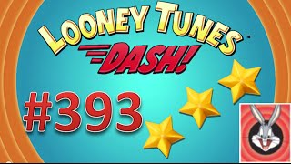 Looney Tunes Dash! level 393 - 3 stars - looney card.