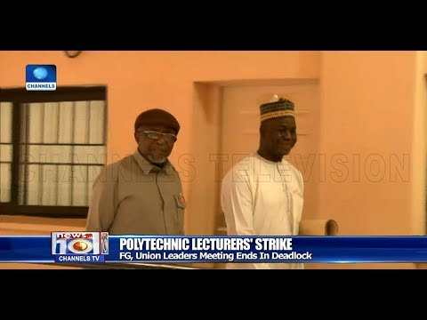 ASUU Strike Continues As Union Leaders Walk Out Of Meeting With FG Pt.1 17/12/18  News@10 