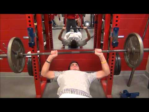 UIC MBB Bench Press Max Out Day