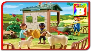 Vizitam ferma Playmobil Country 6635  Sa învățăm animalele  ANIMALELE DOMESTICE ȘI SUNETELE LOR