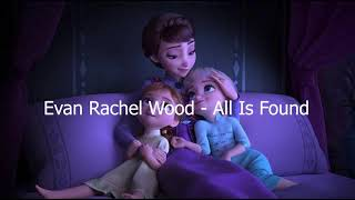 Gambar cover Evan Rachel Wood-All is found FROZEN 2