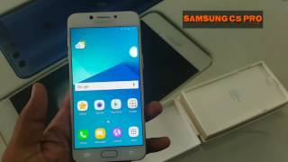 Samsung C5 Pro Unboxing & Review in urdu / hindi