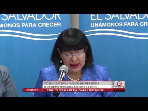 Indemnización a 500 personas despedidas por maquila Kolintex S.A de C.V