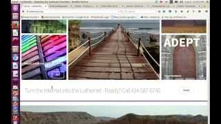 LutherNet Church Website Design Services(Take a tour of the LutherNet. See why your church may need a new website design, especially if it's not mobile-friendly. This video shows three case studies of ..., 2015-08-21T22:03:25.000Z)