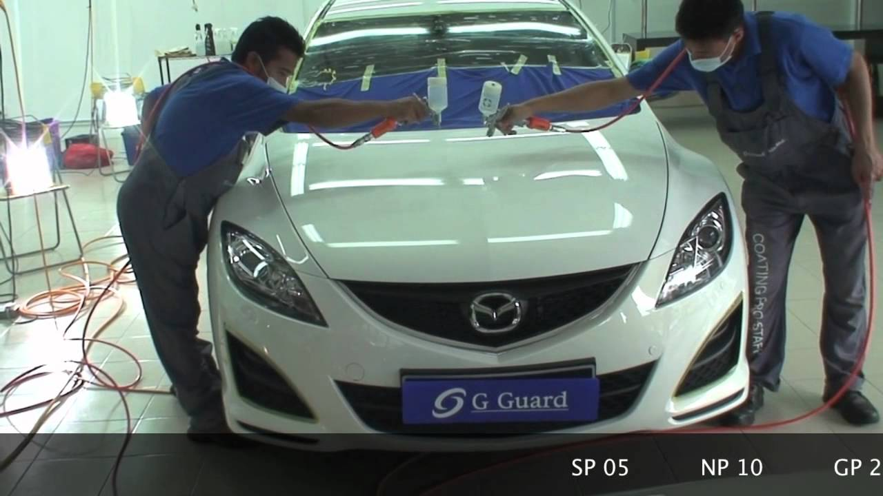 G Guard Car Polish Detailing Coating Malaysia Mazda - Mazda detailing