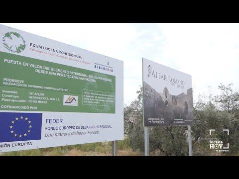 VÍDEO: La Junta de Andalucía autoriza la continuación de los trabajos en los alfares romanos de Lucena