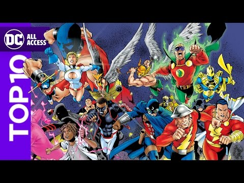 Top 10 Justice Society of America Moments