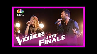 "The voice 2017 addison agen and adam levine - finale: ""falling slowly""- Breaking News TNC -"